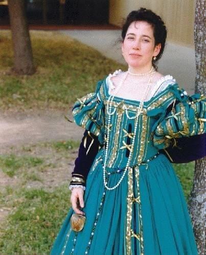 42 Best Renaissance Wedding Dress Images On Pinterest: Italian Renaissance Gown Costumecon By Cindyjoy On Etsy