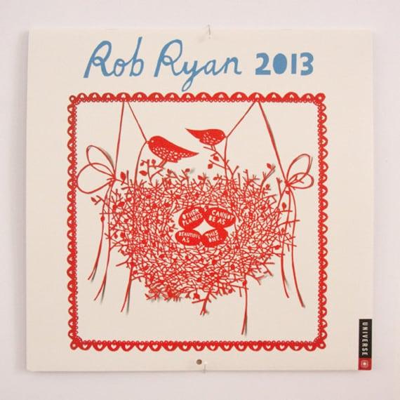 Rob Ryan Calendar 2013