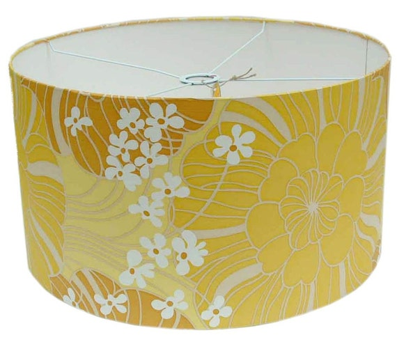 Liberty vintage wallpaper lamp-shade