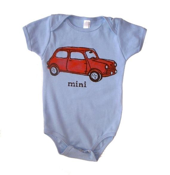items similar to mini cooper car baby infant toddler. Black Bedroom Furniture Sets. Home Design Ideas