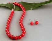 """Red Mountain Jade Set - """"Cherries Jubilee"""""""
