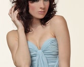 Lovely Cinderella Silk Chiffon Gown