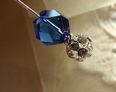 Something Borrowed Something Blue Stick Pin or Ascot Pin