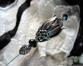 Mourning Song Victorian Hatpin
