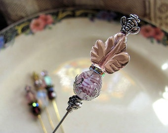 Early Frost Victorian Style Hat Pin