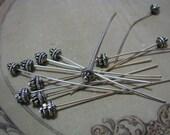2 inch Decorative Head pin lot of 12