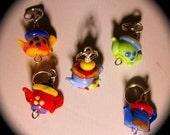 Steeping TEAPOTS Stitchmarkers - Yarn Lust Trinkets