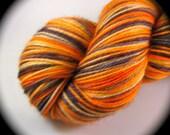 SAN FRANCISCO GIANTS - Stitch n Pitch Baseball Fan - Two-ply Twisty Toes Sock - Dyed to Order - Superwash Merino Wool - Yarn Lust Threads