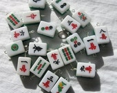 Mix up the MAHJONG tiles Stitchmarkers - Yarn Lust Trinkets