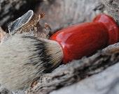 Redheart Handmade Silvertip Badger Hair Shave Brush