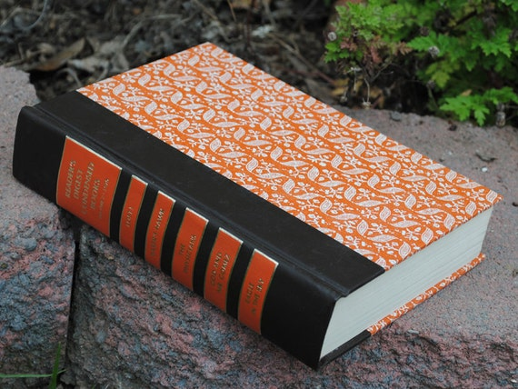 Hollow Book Safe - Readers Digest Collection Orange - Hollow Secret Book - V2 1975