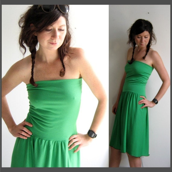 Grass Green Dress/Skirt