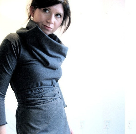 Eyes of Coal Dress w/ sleeves- Made to Order