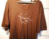 SALE XLarge Women's Shirt with Branch