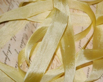 Banana Cream Pie Vintage Seam Binding Ribbon
