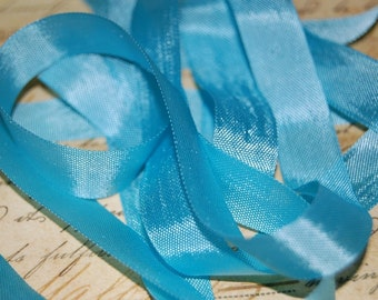 Turquoise Waters Vintage Seam Binding Ribbon