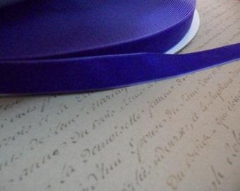 Deep Violet 5/8 Velvet Ribbon