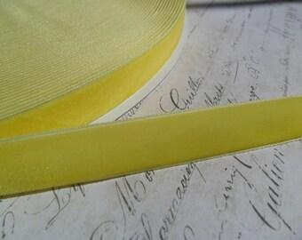7/8inch Banana Cream Pie Velvet Ribbon