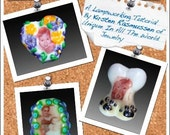 Portrait/Image Bead Lampworking Tutorial - Printing decals and using them in your lampwork