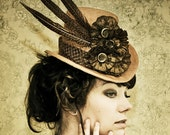 SALE - 25 Percent  Off - The Patience - Steampunk Inspired Top Hat