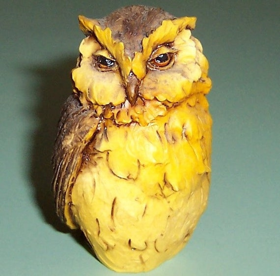 Vintage Artefice Made In Italy Owl