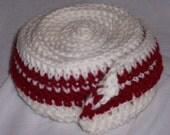 Peppermint or Bacon long crochet scarf
