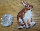 Rabbit Iron on patch 1