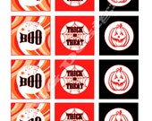 DIY Halloween Cupcake Wrappers and Themed Labels - Party Decor, Favor Tags, Cupcakes Toppers, etc.