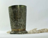 Vintage English Silver Plate water cup Barker Ellis