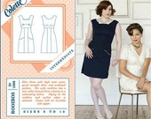 Colette Sewing PATTERN - Rooibos - Dress