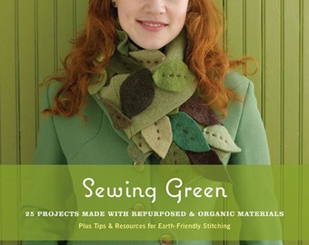 20% Off SALE! Sewing Green BOOK by Betz White