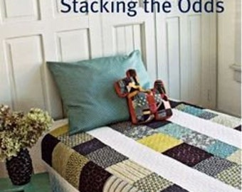 20% Off! Denyse Schmidt PATTERN - Stacking the Odds - Quilt and Sham