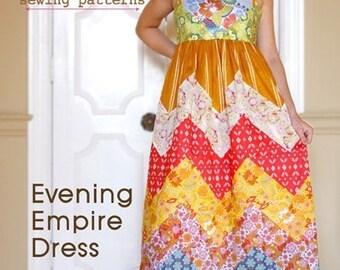 20% Off SALE! Anna Maria Horner PATTERN - Evening Empire Dress
