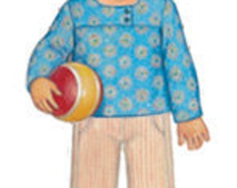 20% Off SALE! Oliver and S PATTERN - After-School Shirt and Pants - Sizes 5-12