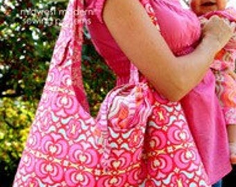 Amy  Butler PATTERN - Nappy Bag
