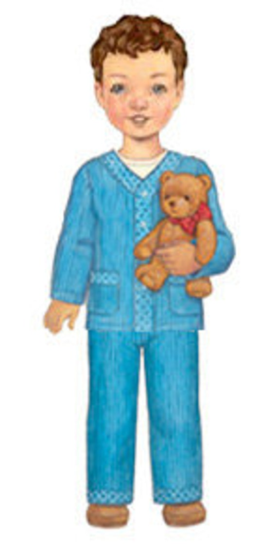 20% Off SALE! Oliver and S PATTERN - Sleepover Pajamas - Sizes 6M-4