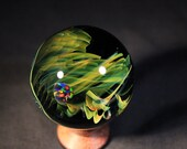 Vart--- Contemporary Boro Glass Marble by Nathan Snyder