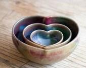 Whole lotta love....three heart set