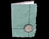 Mixed Media Journal Book - Compass