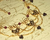 Celtic Queen - Gold Plated Chain Maille Necklace