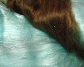 VEGAN - Chocolate on my Blue Silk Dress  - 3 oz Bamboo / Angelina