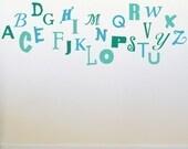 Alphabet Soup Wall Graphics