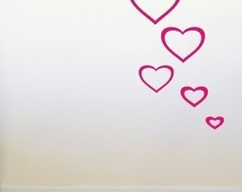 Heart Outline Wall Graphics