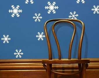 Snowflake Wall Decals - wd1009