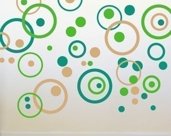 Bubble Wall Decals -  Double Set - wd1070