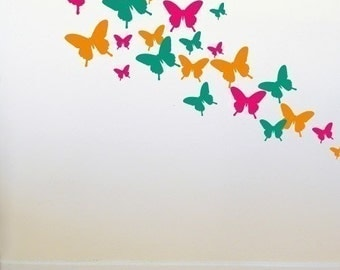 Butterfly Wall Decals - wd1073