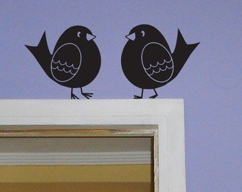Chubby Bird Wall Decals