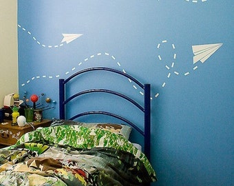 Paper Plane Wall Decals