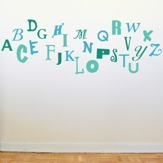 Alphabet Soup Wall Graphics