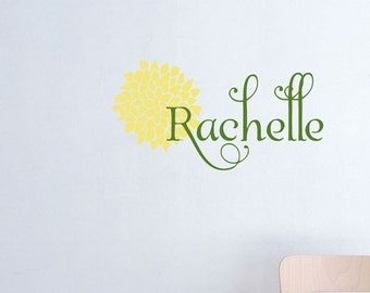 Name and Mum Decal
